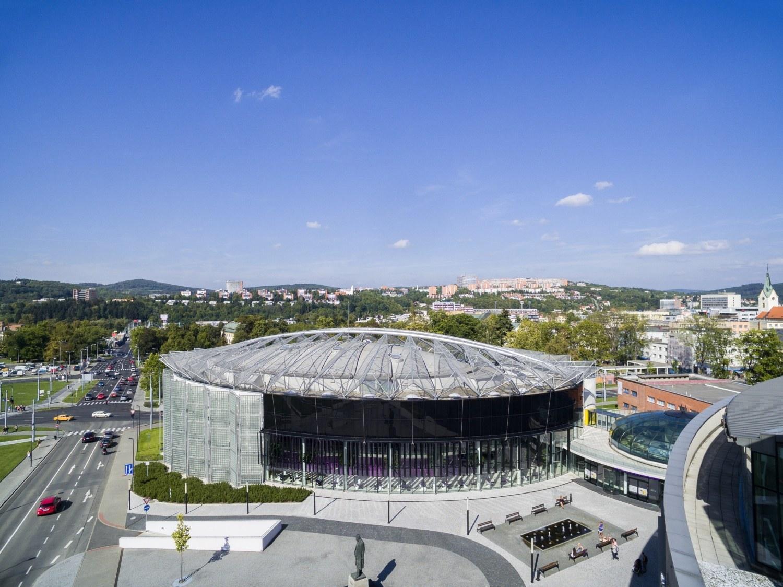 Congress Centre in Zlín - Projekční kancelář Centroprojekt