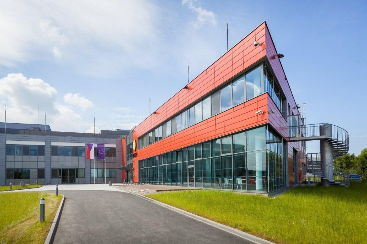 Projekt vědeckého centra BIOCEV ve Vestci u Prahy