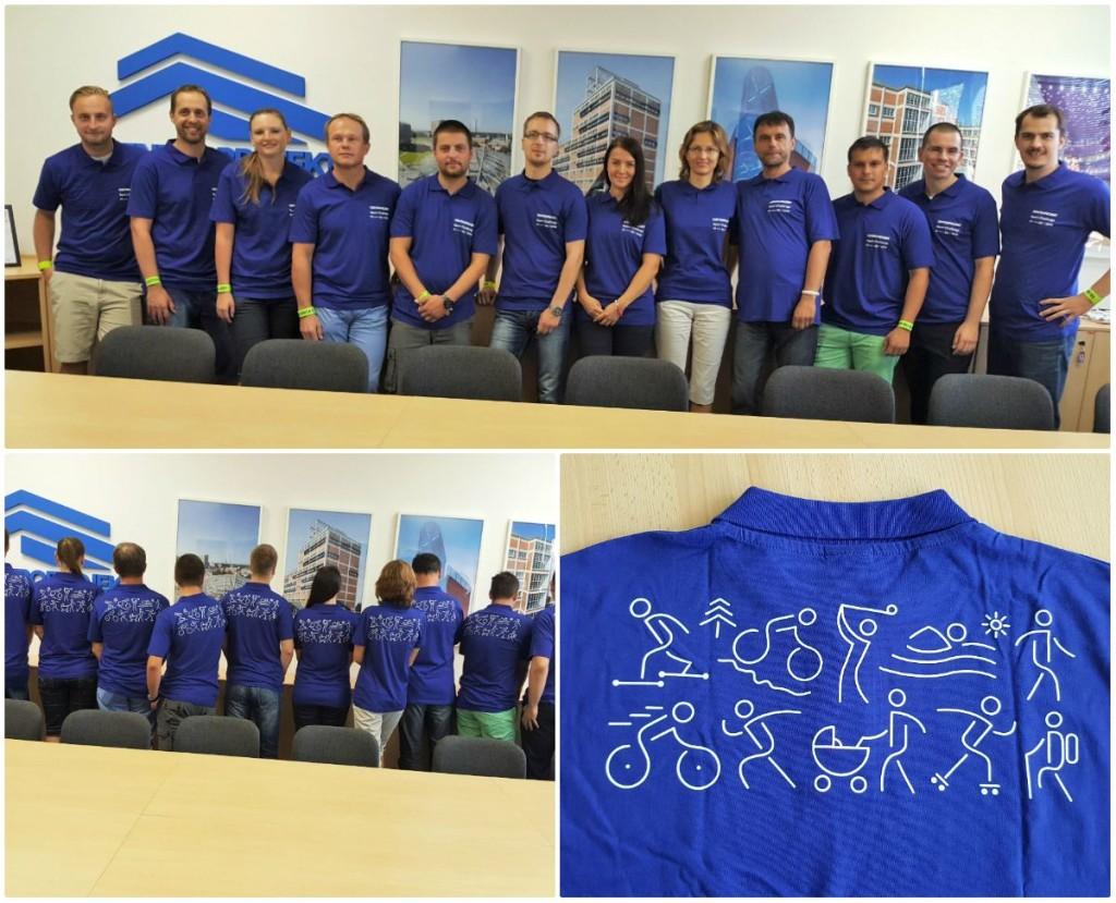 Endomondo Sports Challenge - sportovní akce pro kolegy z projekční kanceláře