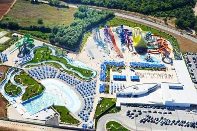 Projekt aquaparku v chorvatské Poreči