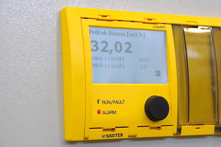 Kogenerační jednotka ve Františkově, místní části Liberce. Projekt realizovala společnost CENTROPROJEKT GROUP a.s.