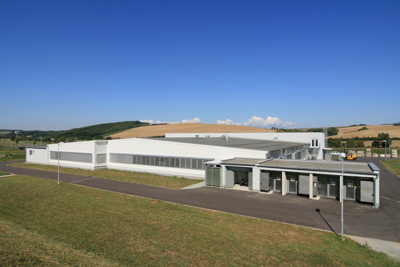 Projekt výstavby výrobního areálu Opal Brankovice navrhl Centroprojekt Zlín