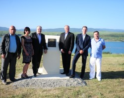 Centroprojekt projektoval aquapark v gruzínském Tbilisi, kde byl položen základní kámen