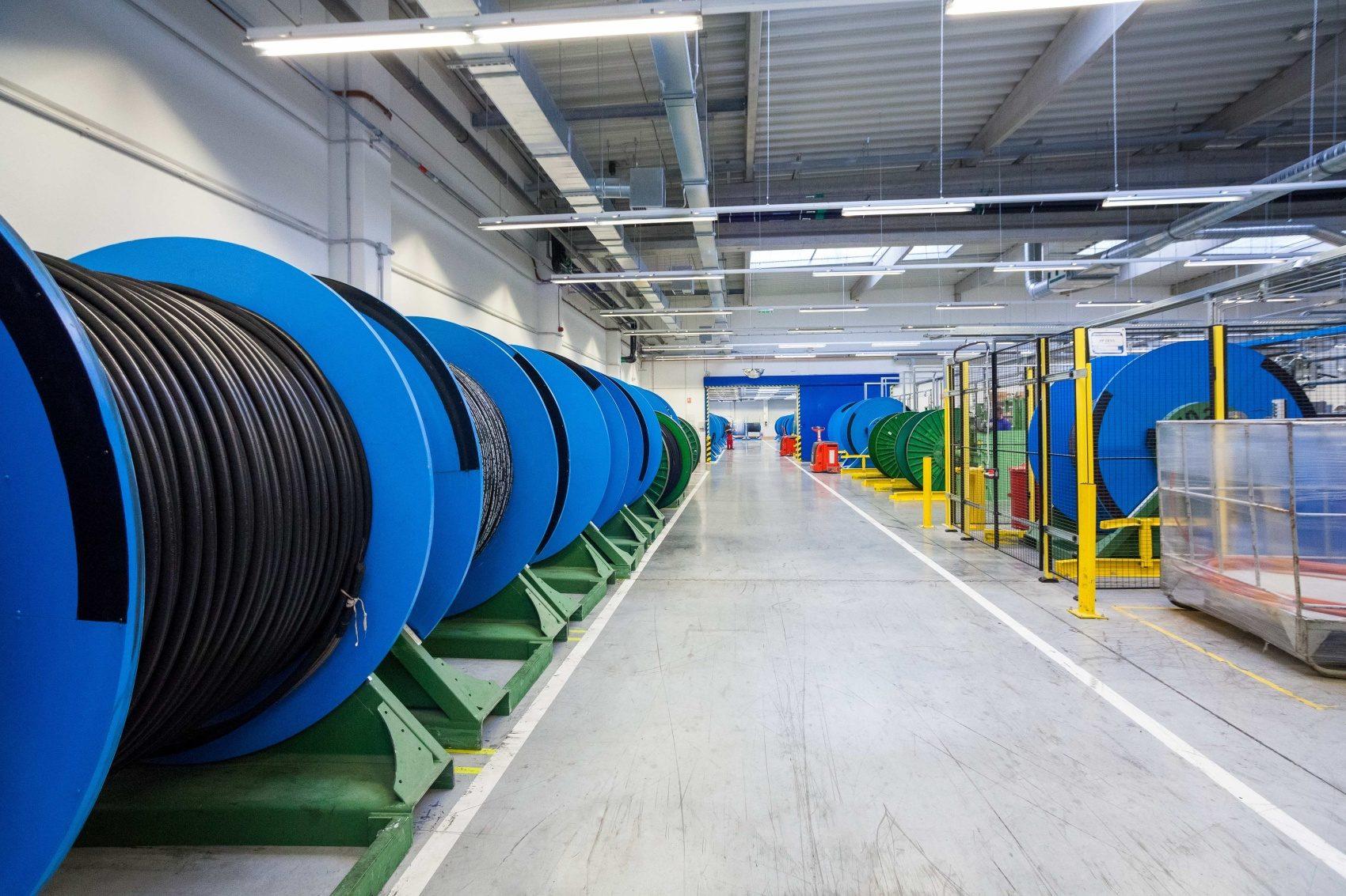Projekt průmyslové haly pro Semperflex Optimit Odry