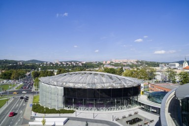 Projekt Kongresového centra ve Zlíně