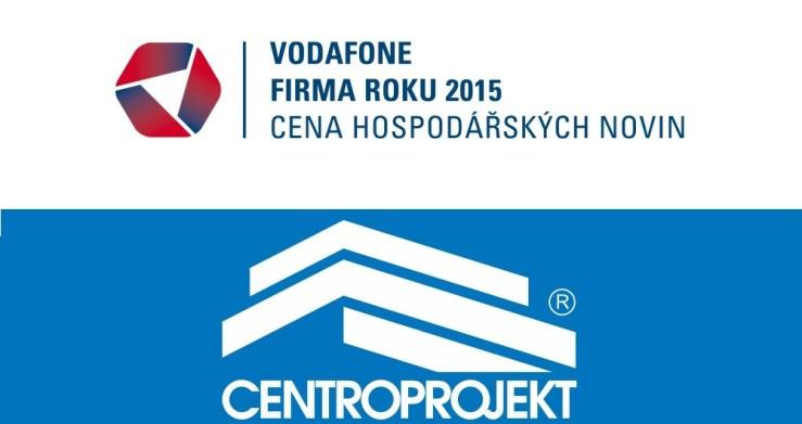 Centroprojekt v soutěži Vodafone Firma roku