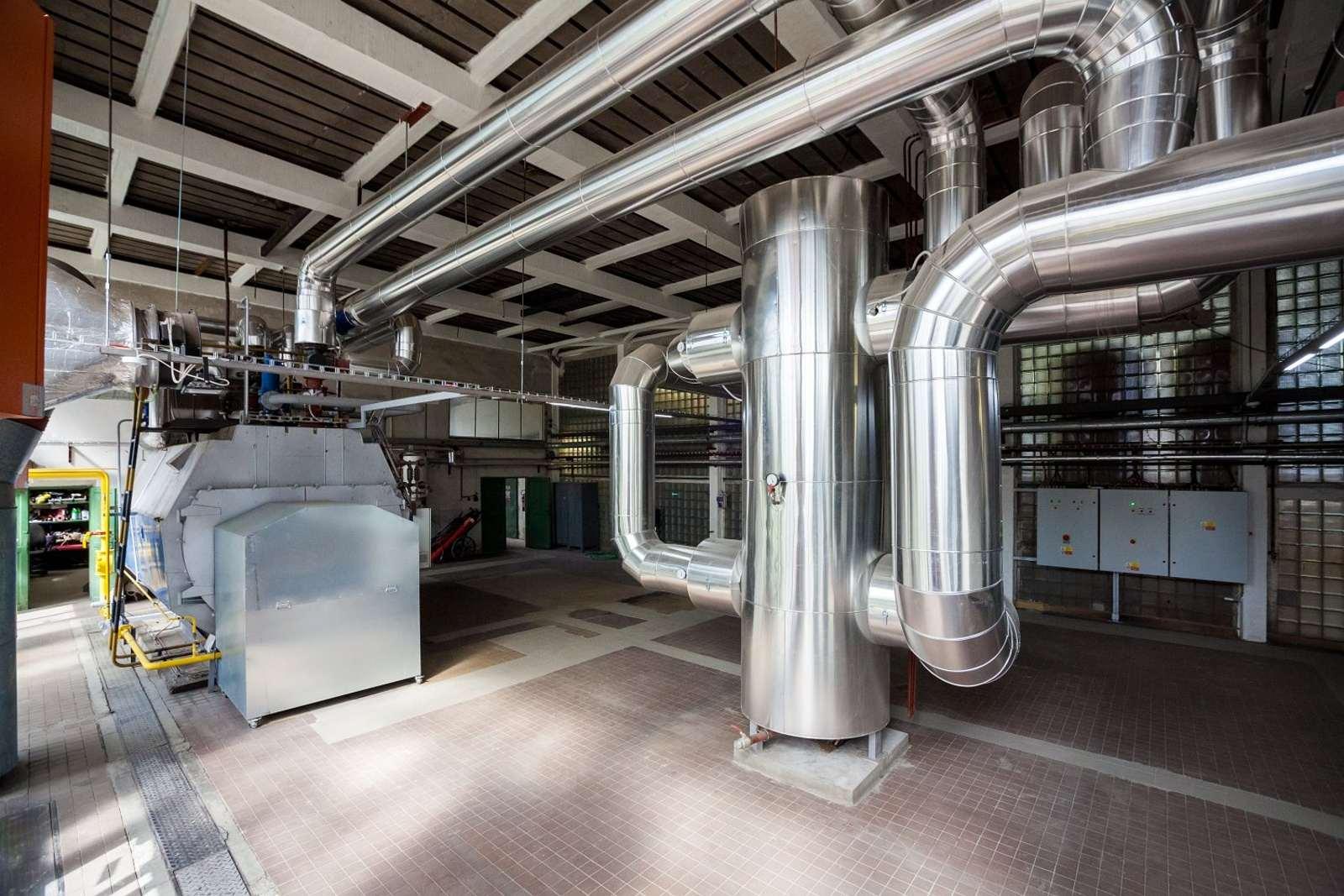Rekonstrukce energetického zdroje MTZ Benešov
