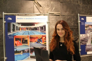 Karolína Pilátová strávila měsíc na stáži v projekční kanceláři Centroprojekt