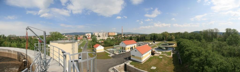 Rekonstruovaná čistírna odpadních vod v Lipníku nad Bečvou