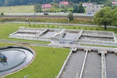 Čistírna odpadních vod v Českém Těšíně