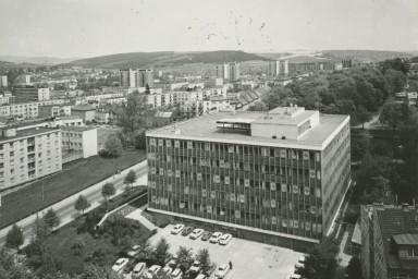 Projekt administrativní budovy pro Centroprojekt