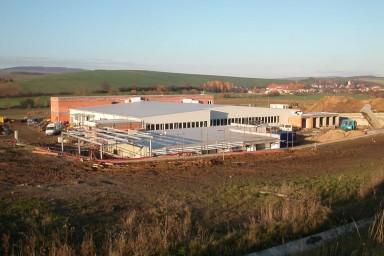 Výstavba nového závodu Opal Brankovice
