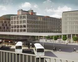 Urbanistická studie dopravního terminálu Zlín