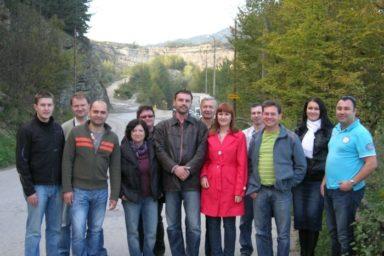 Dopraváci a vodaři na exkurzi na Slovensku