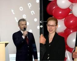 Ocenění TOP 10 firem Zlínského kraje pro projekční kancelář Centroprojekt