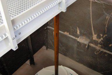 Invent: míchadla na úpravně vod v Ostrožské Nové Vsi