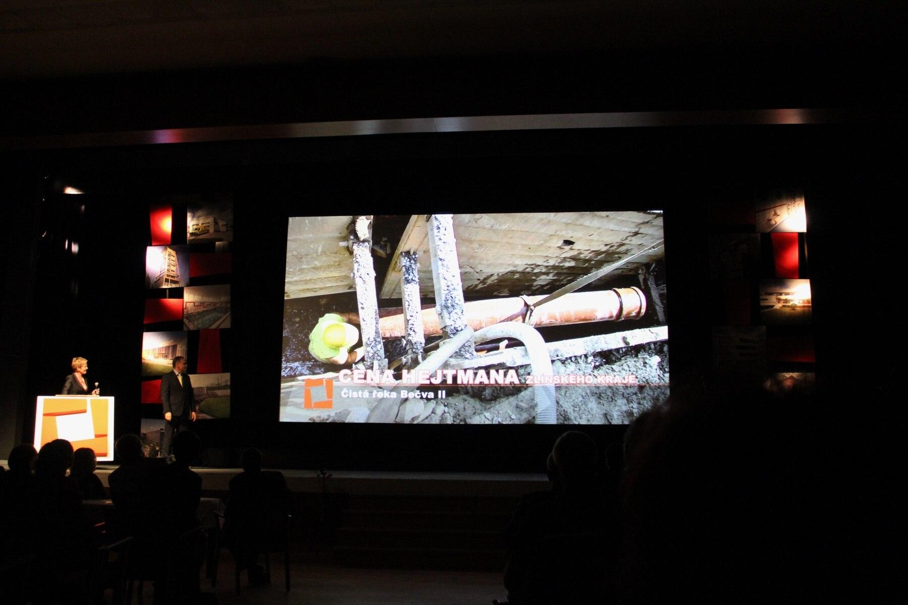 Stavba roku 2016 Zlínského kraje - ocenění pro naši projekční kancelář